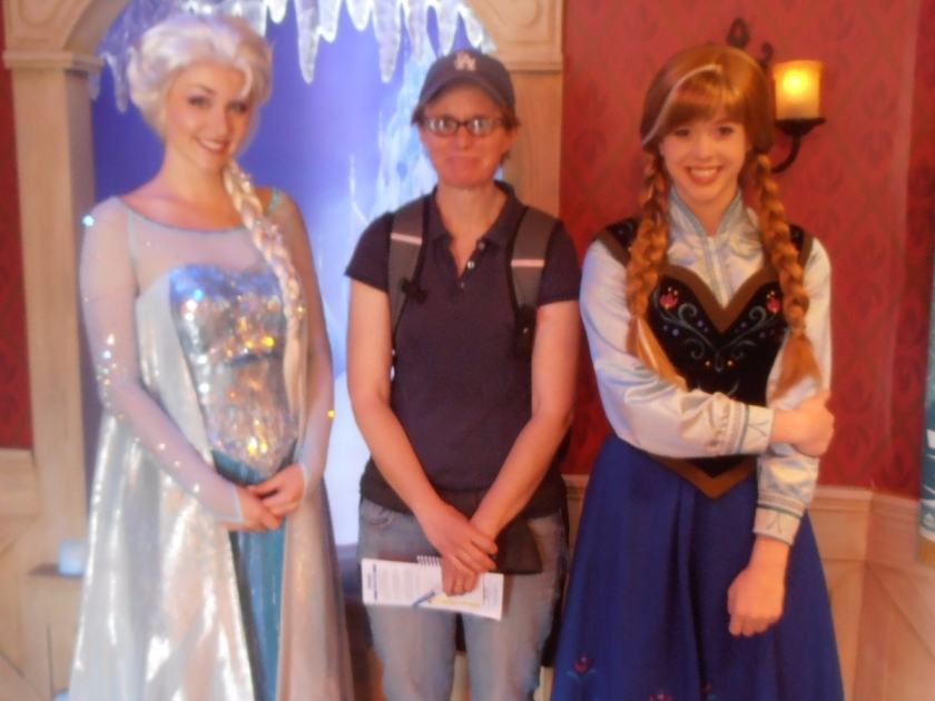 I stood in a 3 hour line at disneyland to meet frozen royals anna frozen 1 crop m4hsunfo
